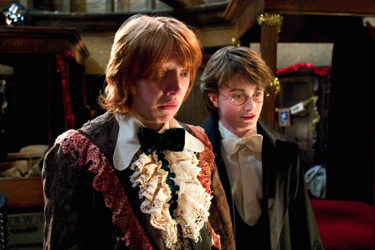 ron weasley dumbledore