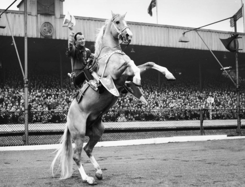 Roy Rogers And Horse