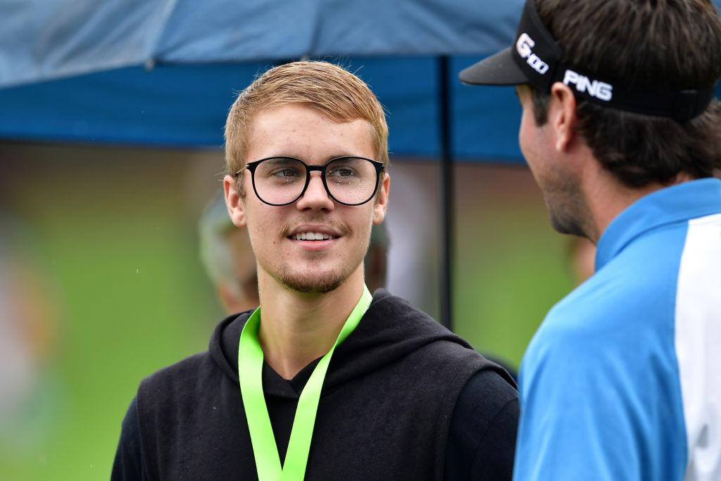 justin bieber best celebrity golfers