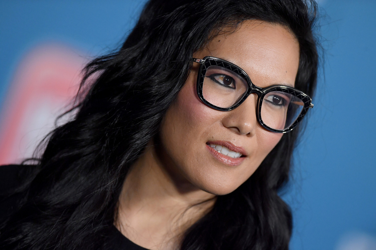 GettyImages-1057990798 close up of ali wong's glasses