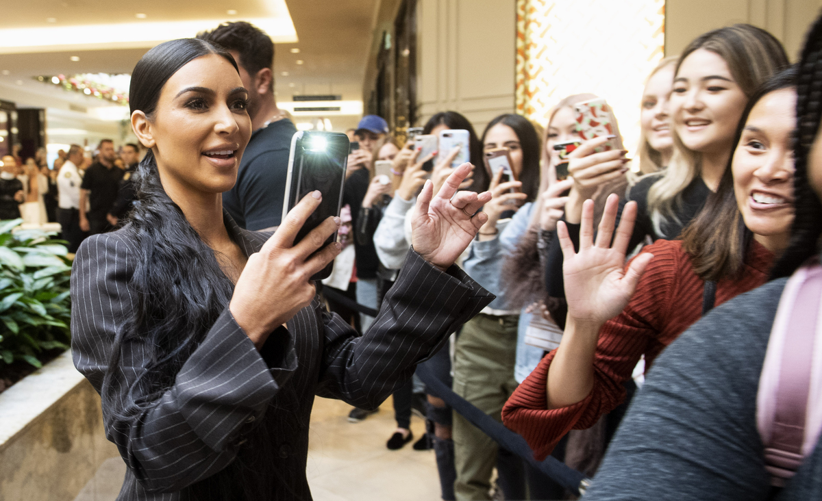 Kim Kardashian West opens KKW location in Costa Mesa, California