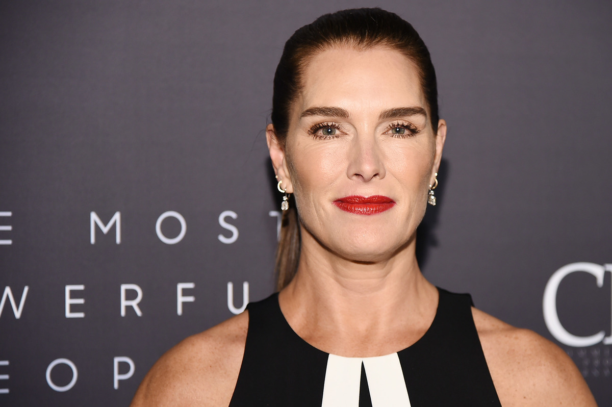 Brooke Shields attends the The Hollywood Reporter's 9th Annual Most Powerful People In Media at The Pool on April 11, 2019 in New York City.