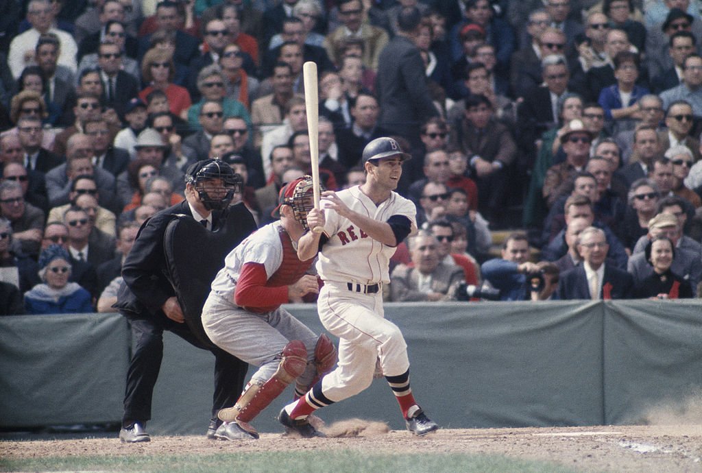 Red Sox outfielder Carl Yastrzemski #8