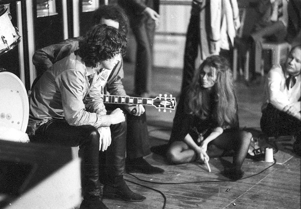 the doors backstage 1970