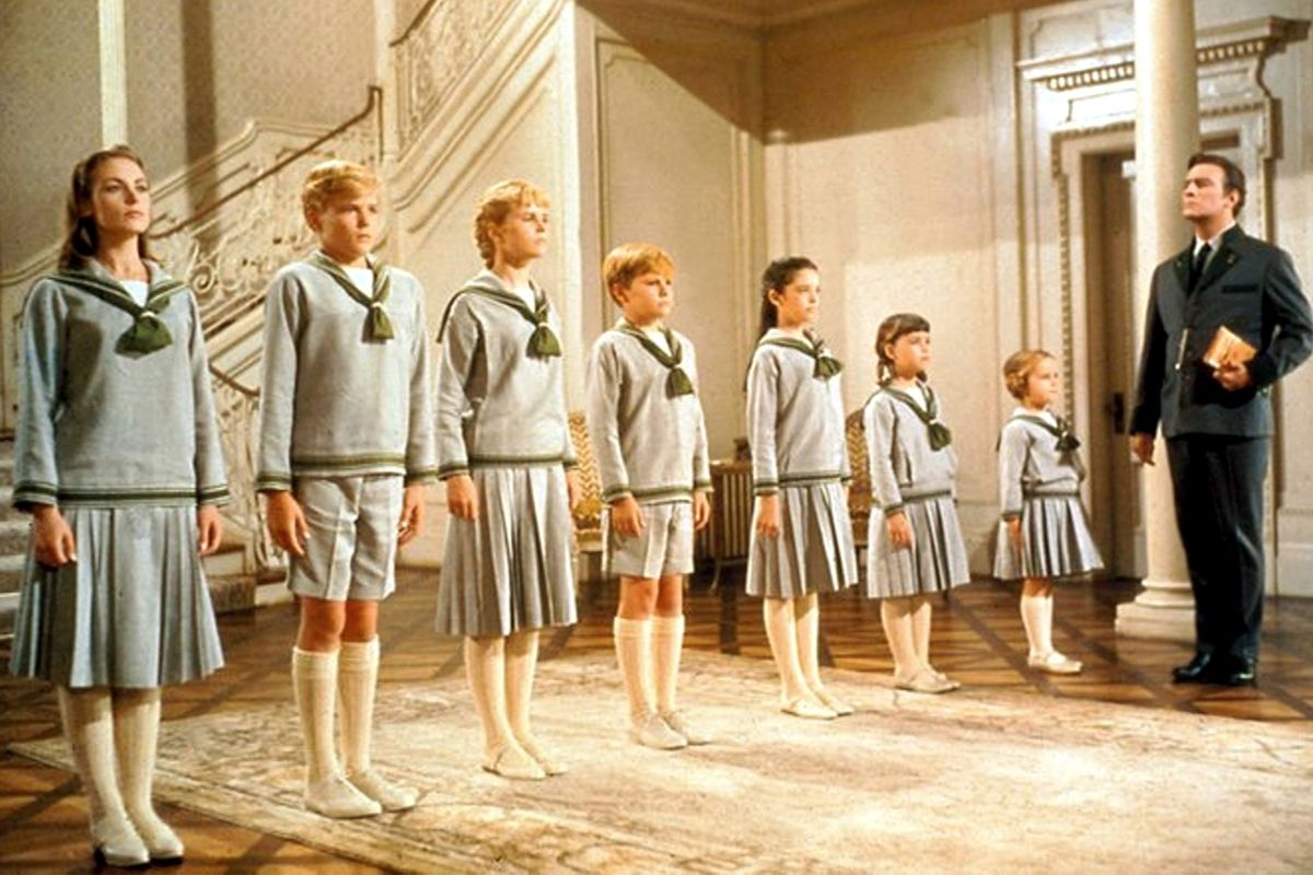 sound of music kids and christopher plummer