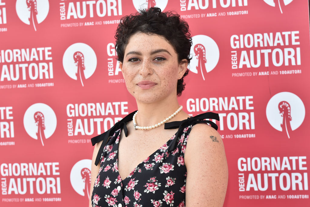 Alia Shawkat attends the MiuMiu photocall during the 76th Venice Film Festival at Sala Volpi