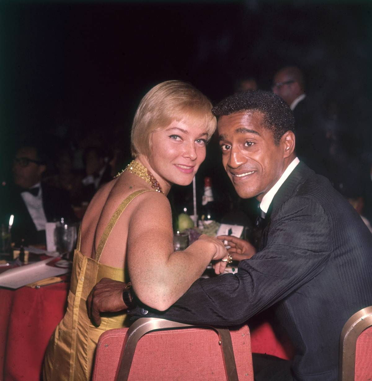 Sammy Davis Jr. And May Britt