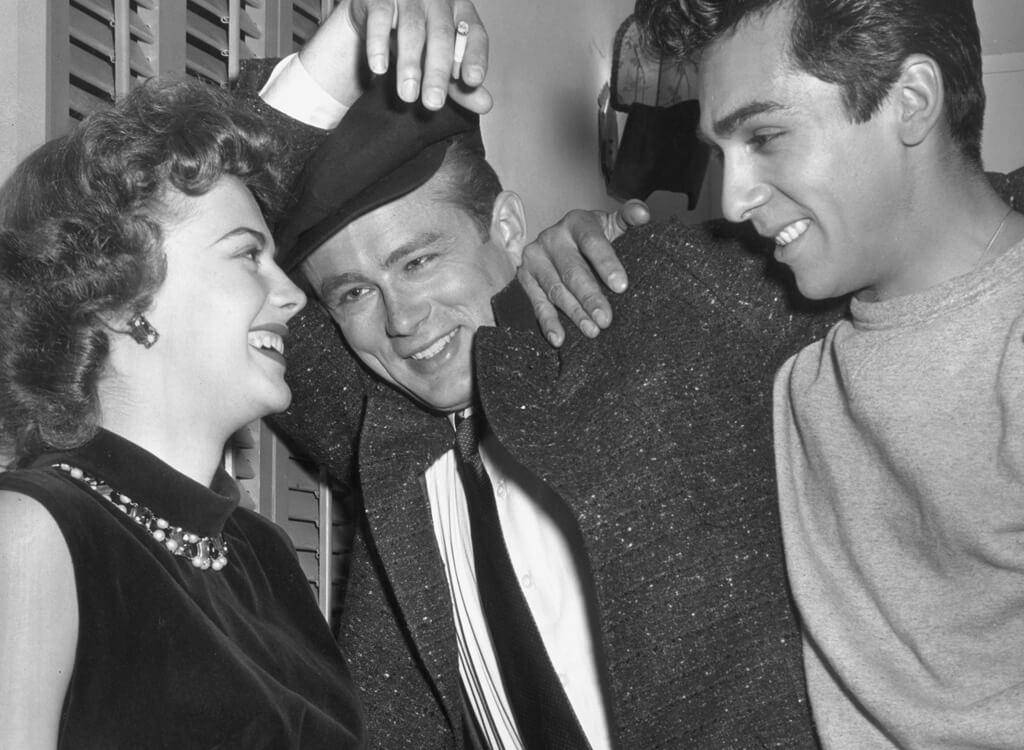 James Dean And Natalie Wood Welcome Perry Lopez