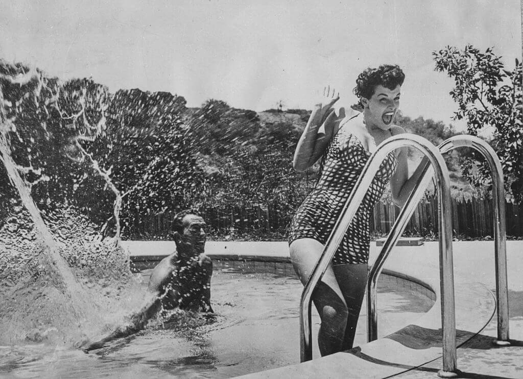 Life Was Easygoing For Hollywood Stars
