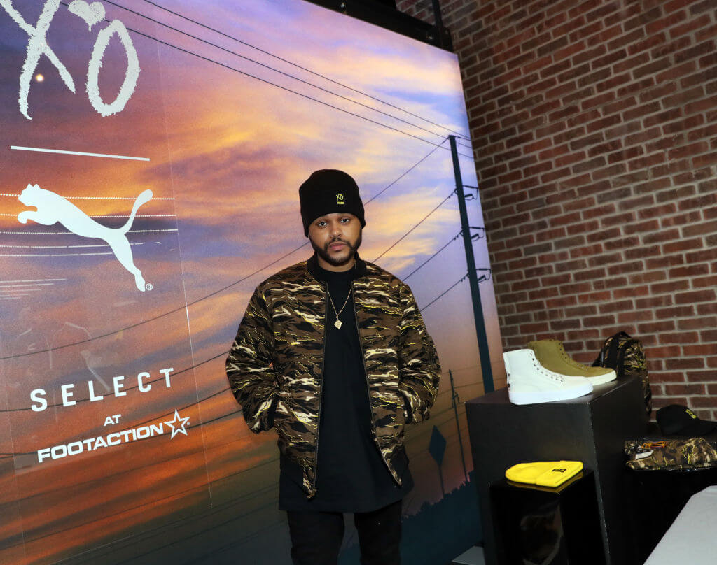 The Weeknd is All In with Puma