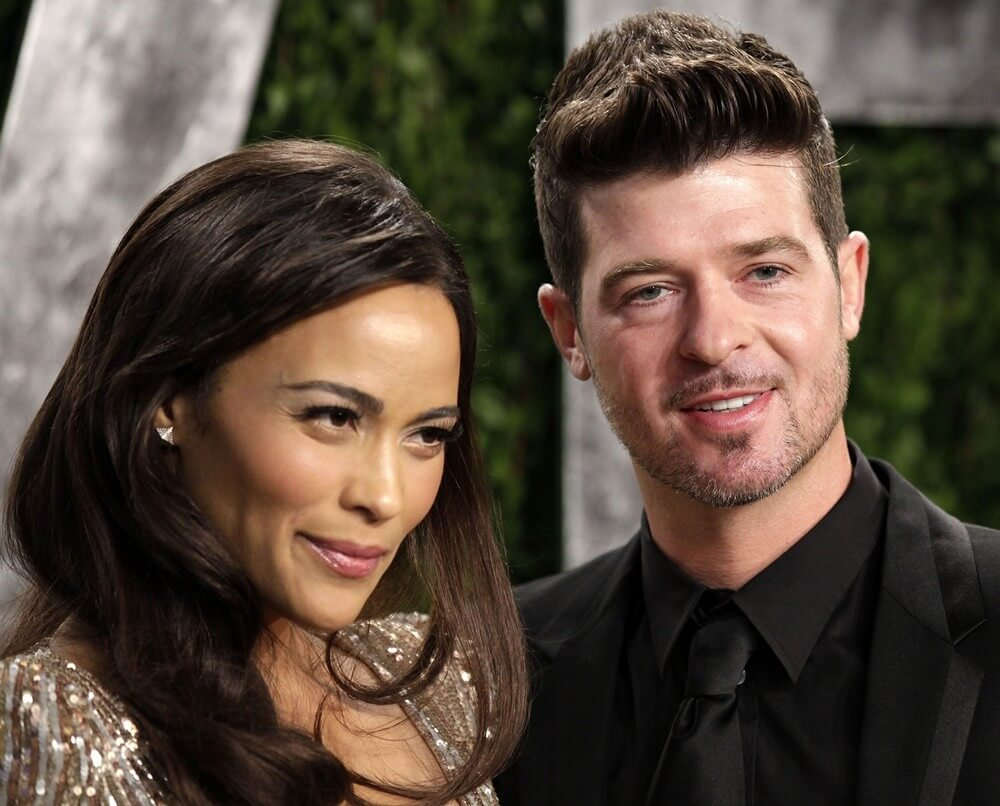 Paula Patton,Robin Thicke